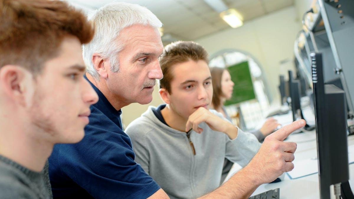 Les jeunes décrocheurs pourront bénéficier d'une formation.