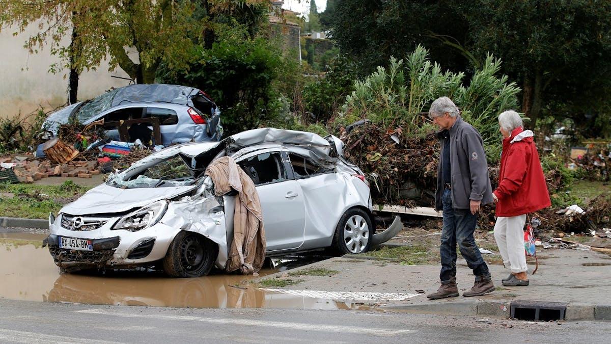 126 communes ont été reconnues en état de catastrophe naturelle suite aux inondations qui ont frappé l'Aude.