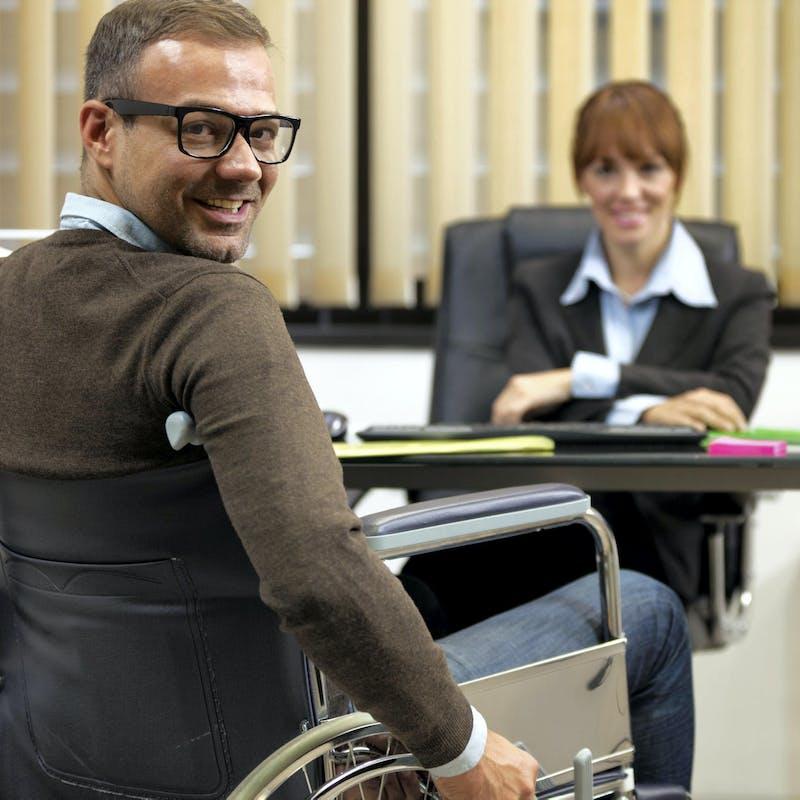 Je suis handicapé et je veux travailler, comment faire ?