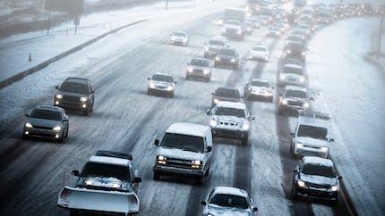 Neige, verglas, brouillard : suivez l'état des routes en temps réel