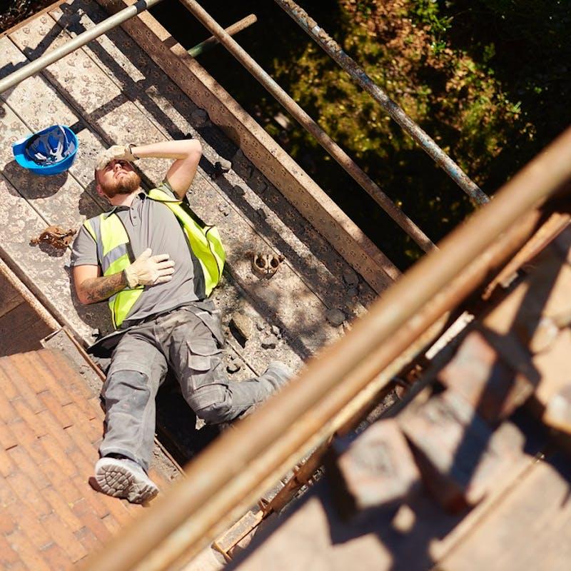 Prévention : une campagne pour éviter les chutes de hauteur au travail