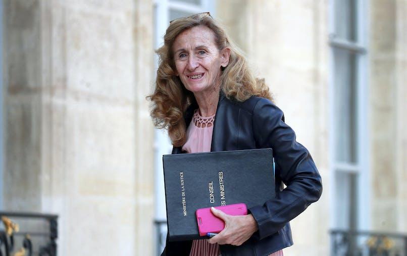 Nicole Belloubet, le 17 octobre à l'Elysée.