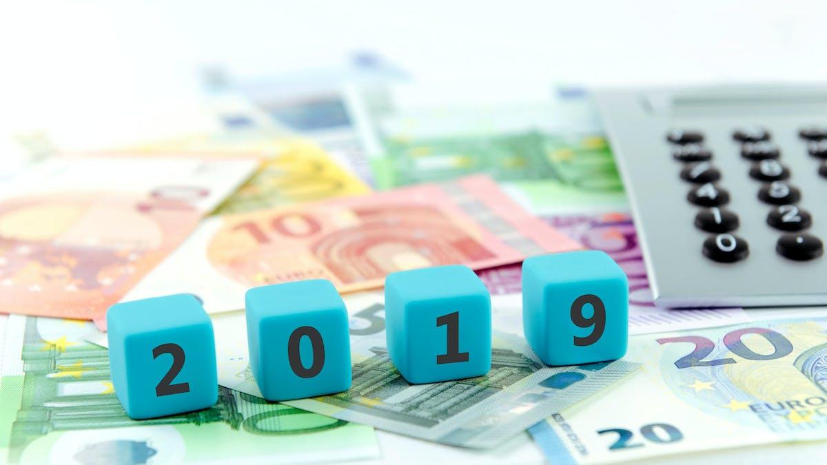 L'année fiscale 2019 comporte des modifications notables.