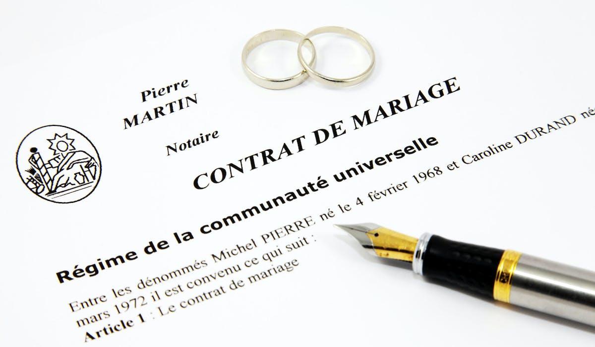 Vous pouvez changer de régime matrimonial.