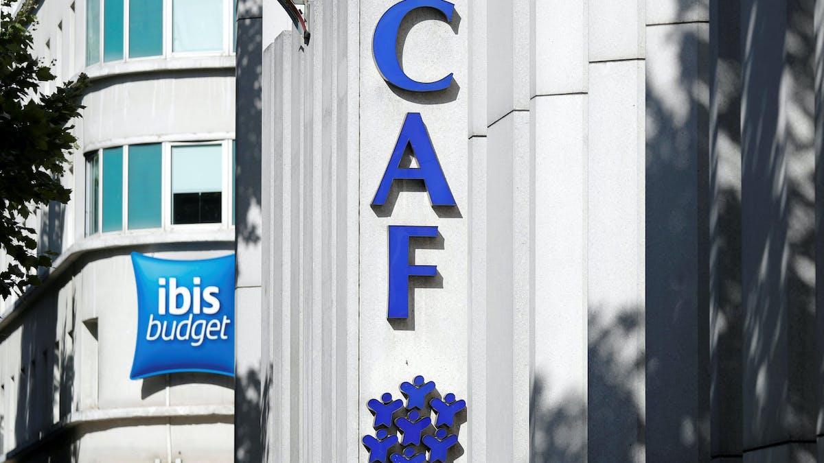 Une CAF à Paris.
