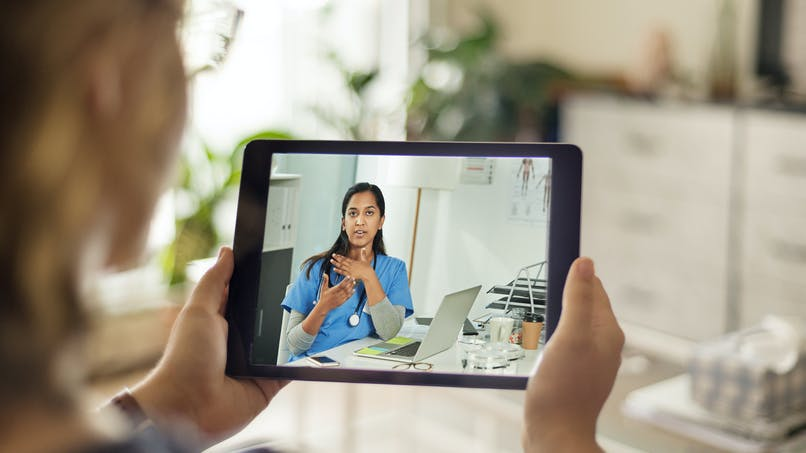 Téléconsultation médicale : les utilisateurs des plateformes nationales ne seront pas remboursés par la Sécu