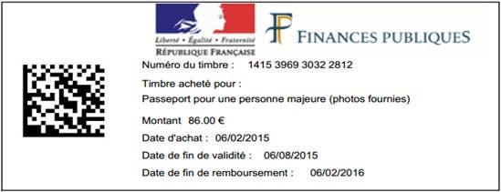 timbre fiscal 25€ carte d identité Carte d'identité : achetez le timbre fiscal sur Inter| Dossier