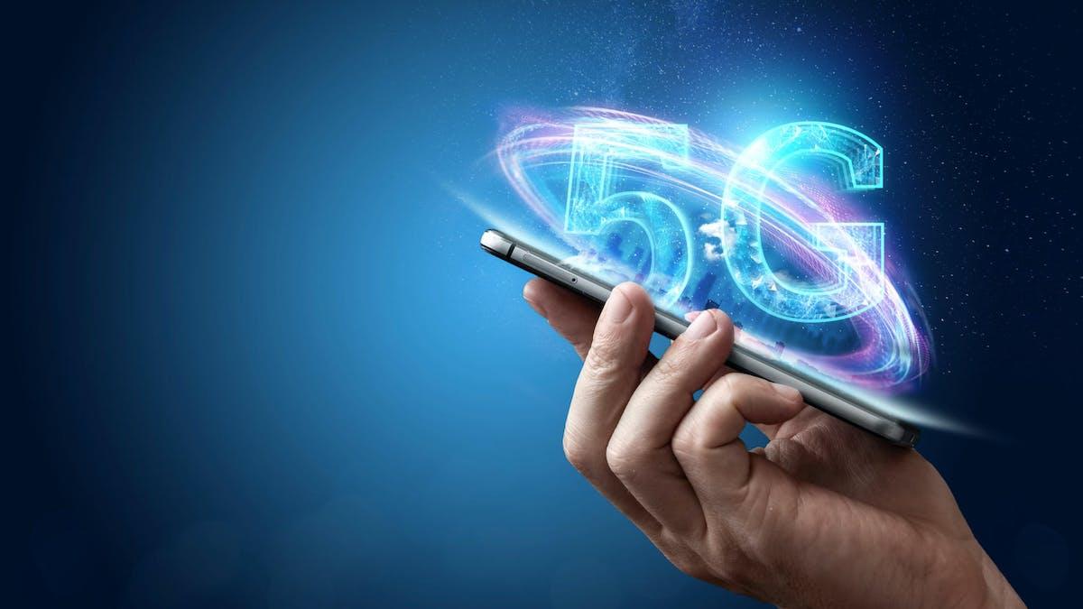 La 5G est la cinquième génération de communications mobiles.