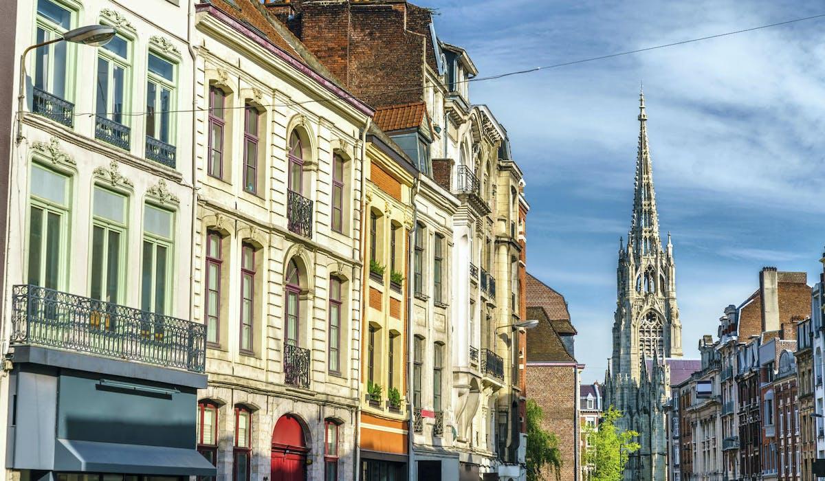 Une rue dans le Vieux-Lille.