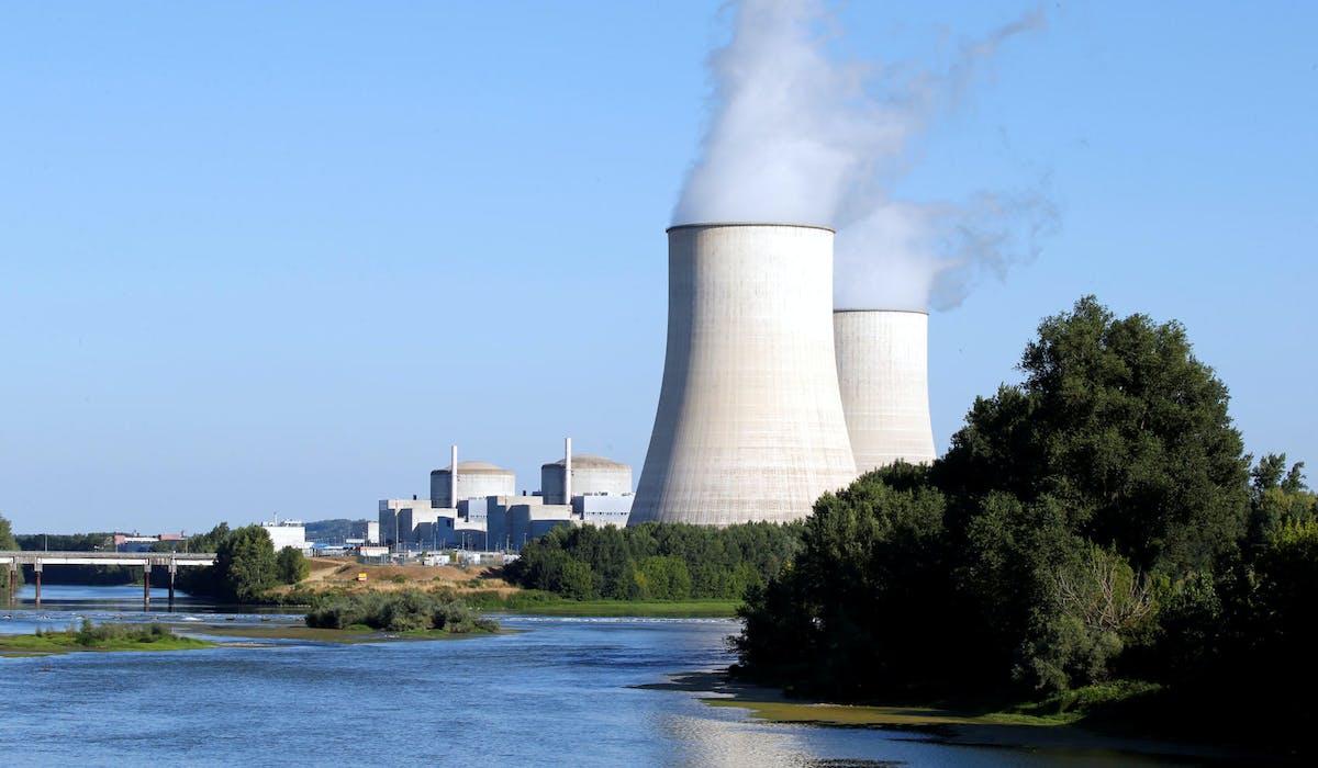 La centrale nucléaire de Golfech (Tarn-et-Garonne), le 19 juillet dernier.