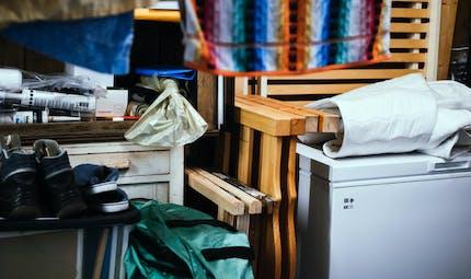 Les parkings de logements sociaux peuvent permettre de stocker des meubles