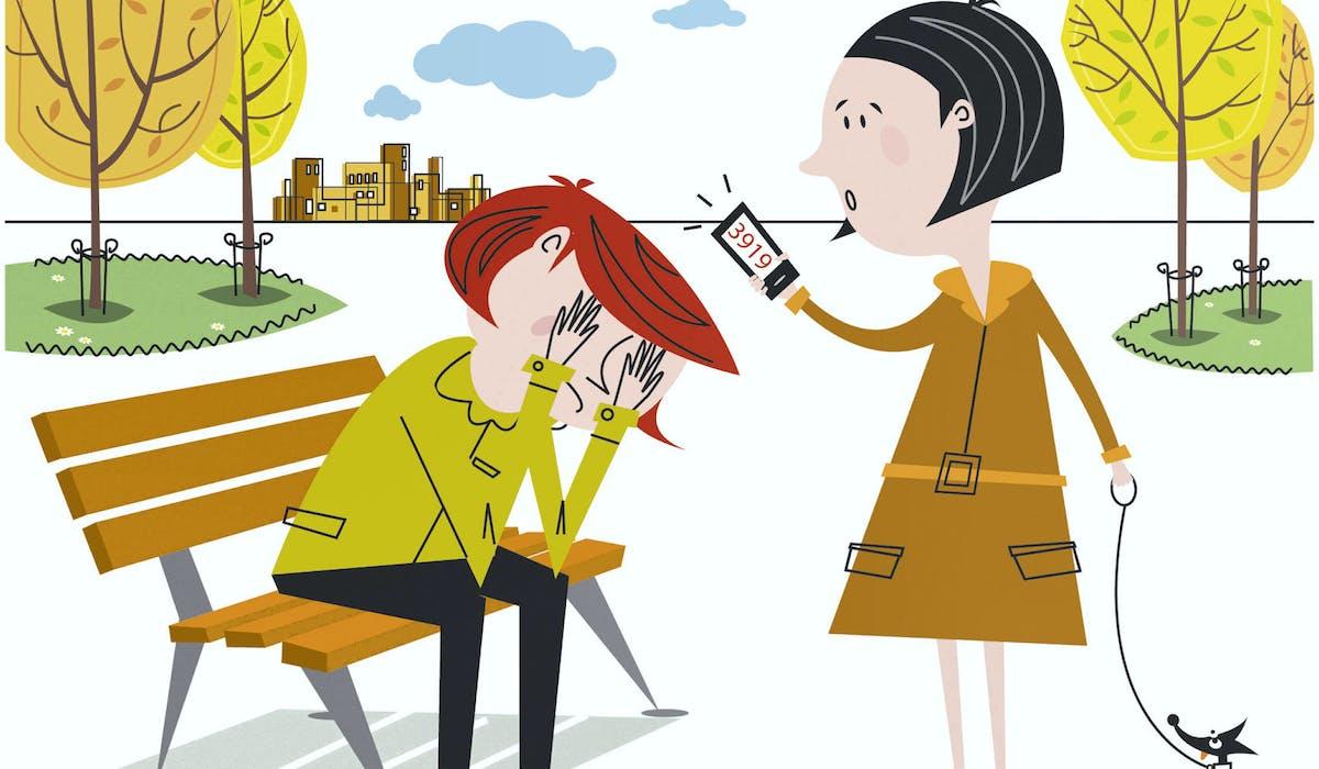 Témoin de violence conjugale, aidez la victime à signaler les faits