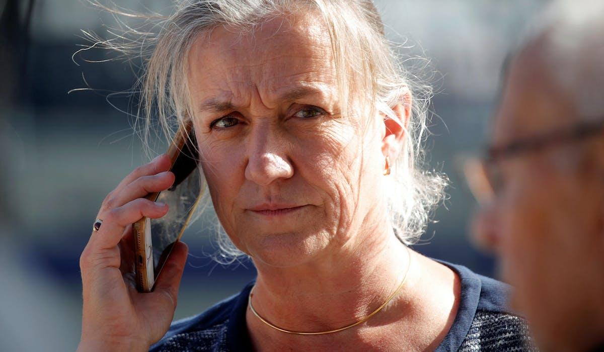 La pneumologue Irène Frachon lors de l'ouverture du procès du Mediator, le 23 septembre à Paris.