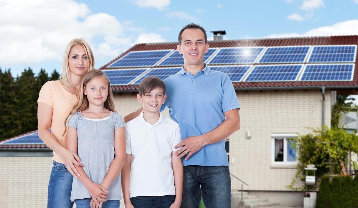 10 m2 de capteurs suffissent à chauffer une maison de 100 m2.