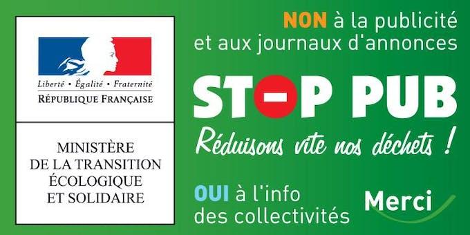 Prospectus dans les boîtes aux lettres : comment faire respecter  l'autocollant Stop pub ? | Dossier Familial