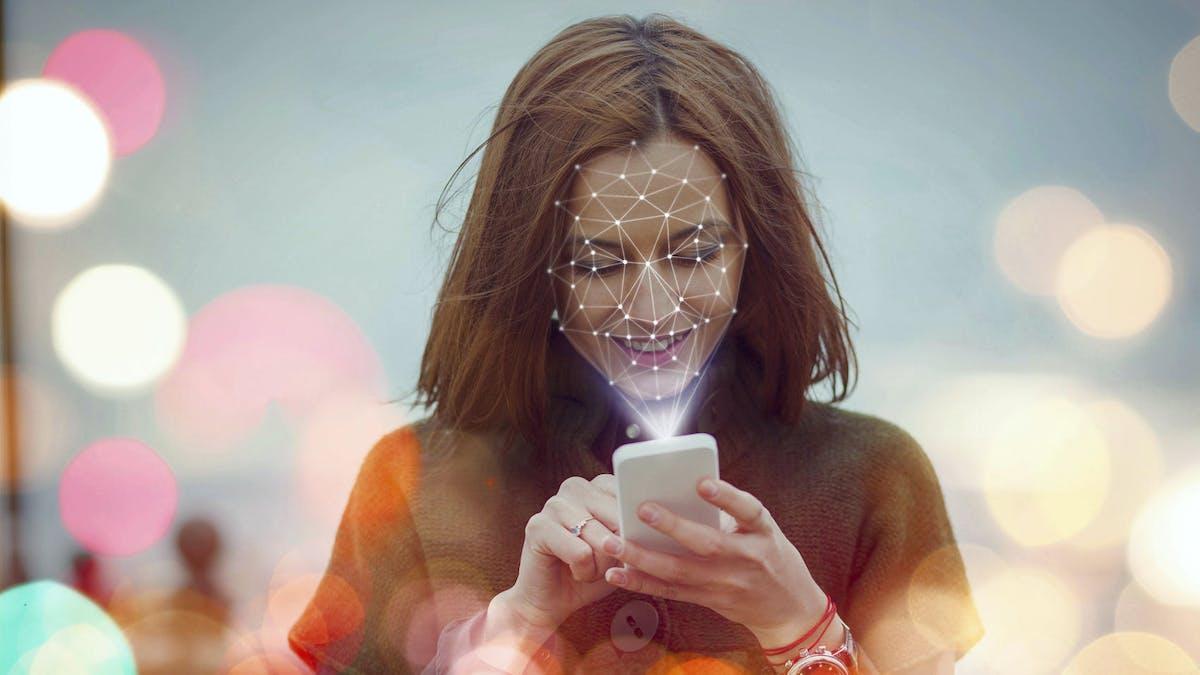 La reconnaissance faciale depuis un smartphone