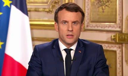 Ecoles fermées, chômage partiel... les annonces d'Emmanuel Macron sur le coronavirus