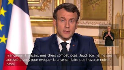 """""""Nous sommes en guerre"""" : Emmanuel Macron annonce des mesures strictes contre le coronavirus"""