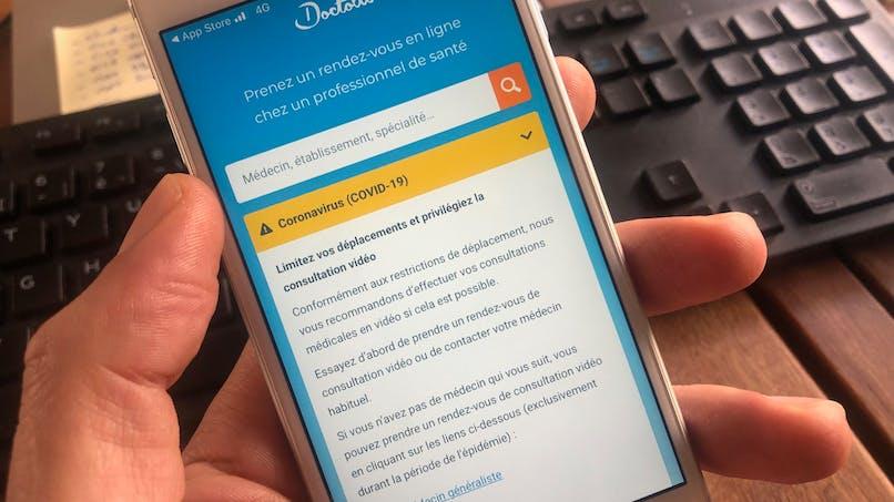 Prendre un RDV avec un médecin en téléconsultation sur Doctolib : mode d'emploi