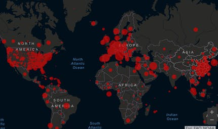 Coronavirus: suivre l'évolution de la pandémie en France et dans le monde