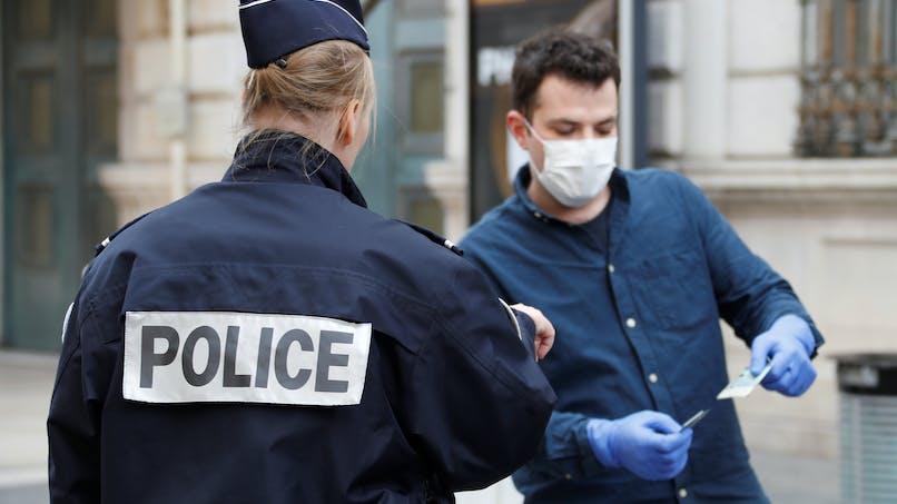 Coronavirus: 100000 policiers et gendarmes exposés au risque de contamination