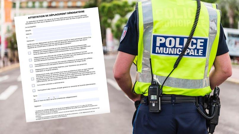 Attestation de déplacement : une amende à 200 €en cas de récidive