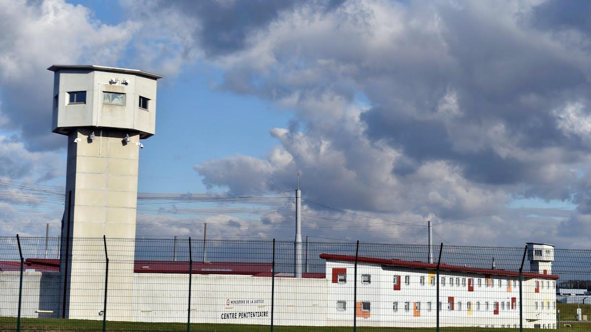La prison de Vendin-le-Vieil (Pas-de-Calais), en février 2018.
