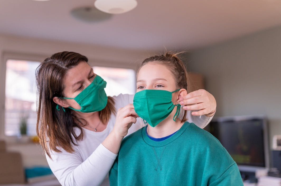masque anti coronovirus