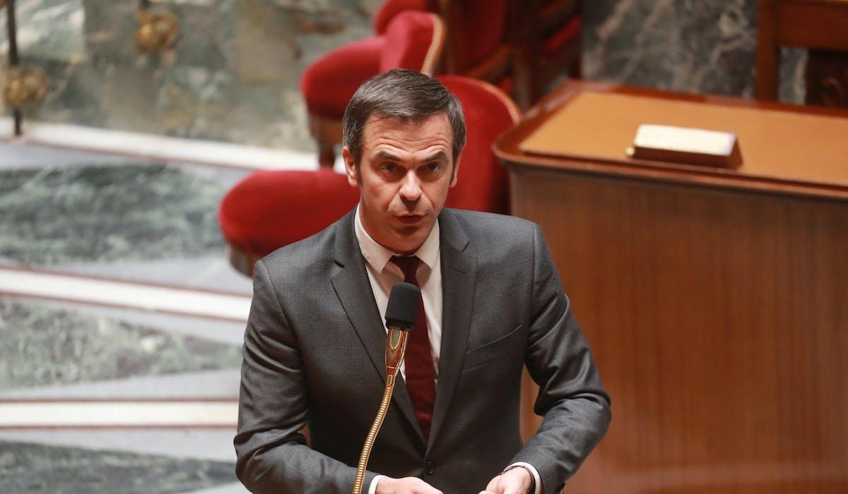 Olivier Véran, mercredi 29 avril à l'Assemblée nationale.