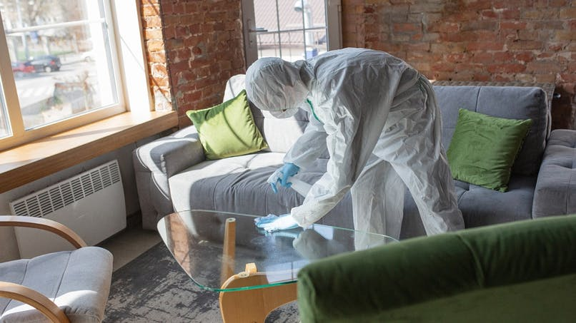 Coronavirus : un locataire doit-il désinfecter son logement avant de le rendre ?