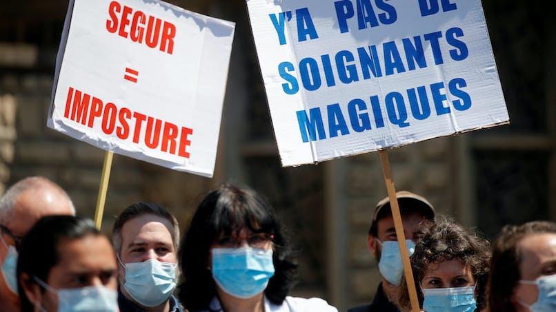 Ségur de la santé: les syndicats attendent plus
