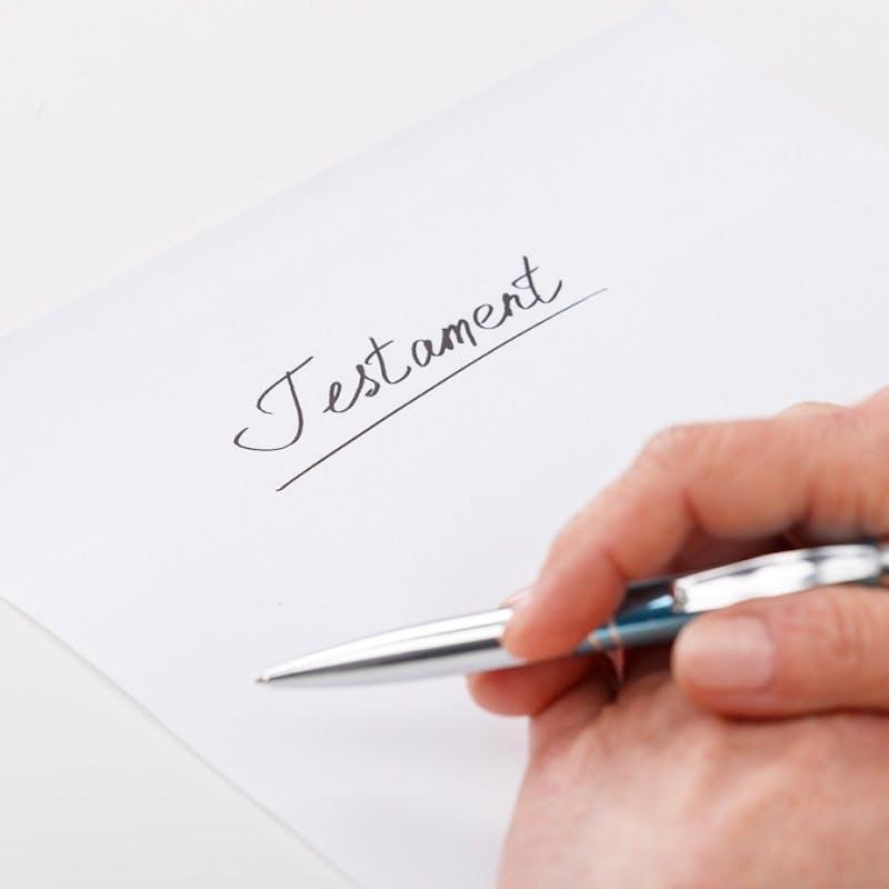 Ouvrir un testament