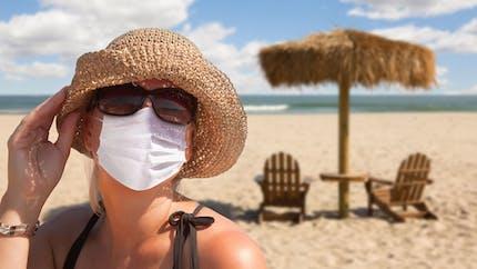 Coronavirus : 4 conseils pour supporter le masque par forte chaleur