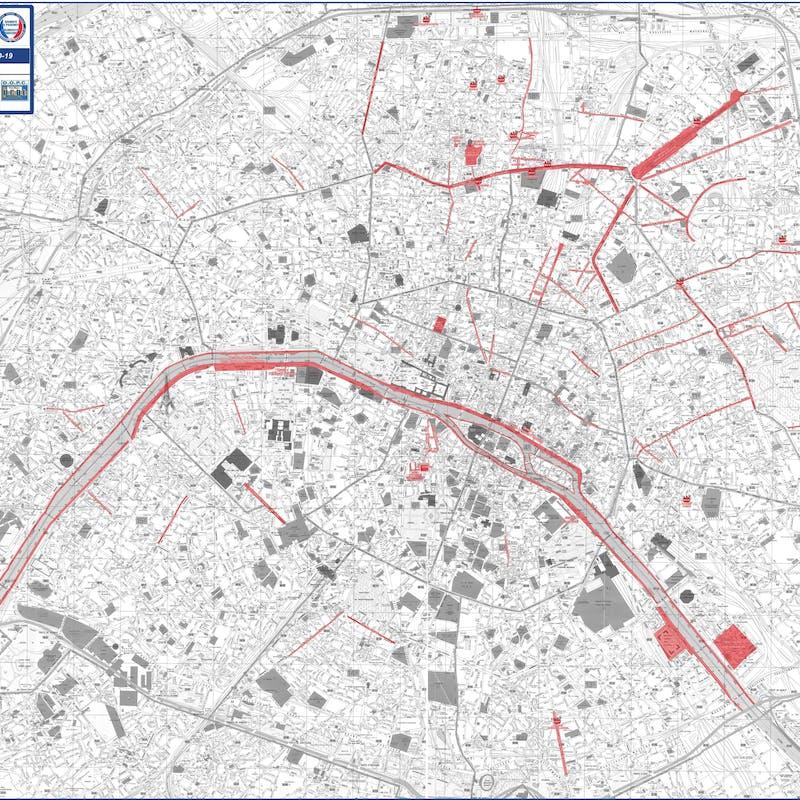 Paris : les zones à masque obligatoire à l'extérieur