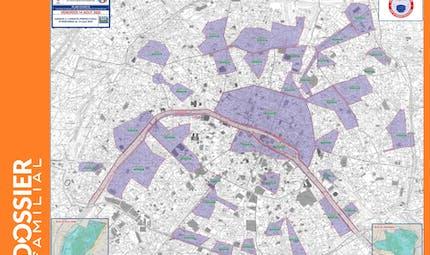 Masque obligatoire à Paris : la carte des nouvelles zones