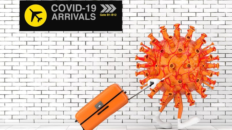 Coronavirus : 32 pays classés en zone rouge par la France