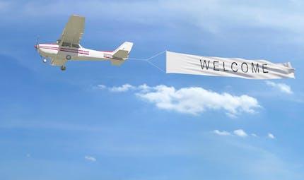 Les avions publicitaires n'ont plus le vent en poupe
