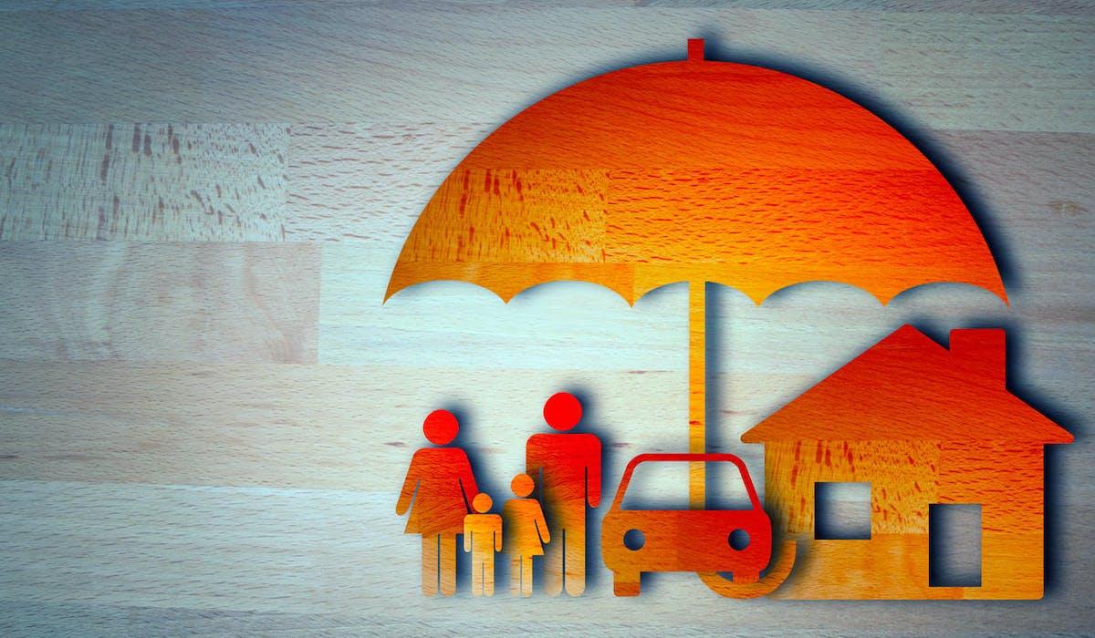 Mise à l'abri de sa famille, maison et voiture par l'assurance