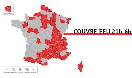 Covid-19 : 46 millions de Français soumis au couvre-feu