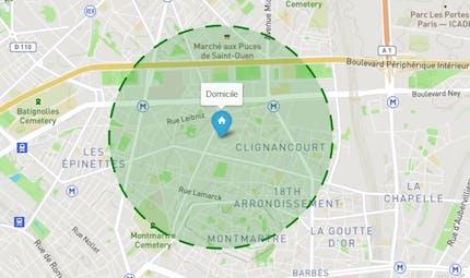Reconfinement : comment calculer la zone d'1 kilomètre autour de votre domicile ?