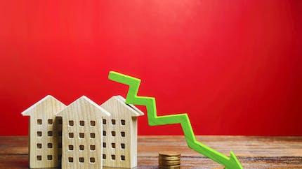 Les prix de l'immobilier ancien vont fortement reculer