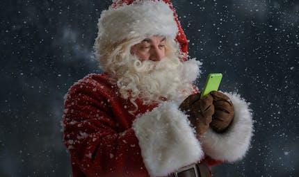 Un numéro de téléphone pour appeler le Père Noël gratuitement