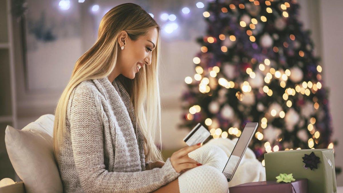 La période de Noël est propice aux achats de cadeaux sur internet.