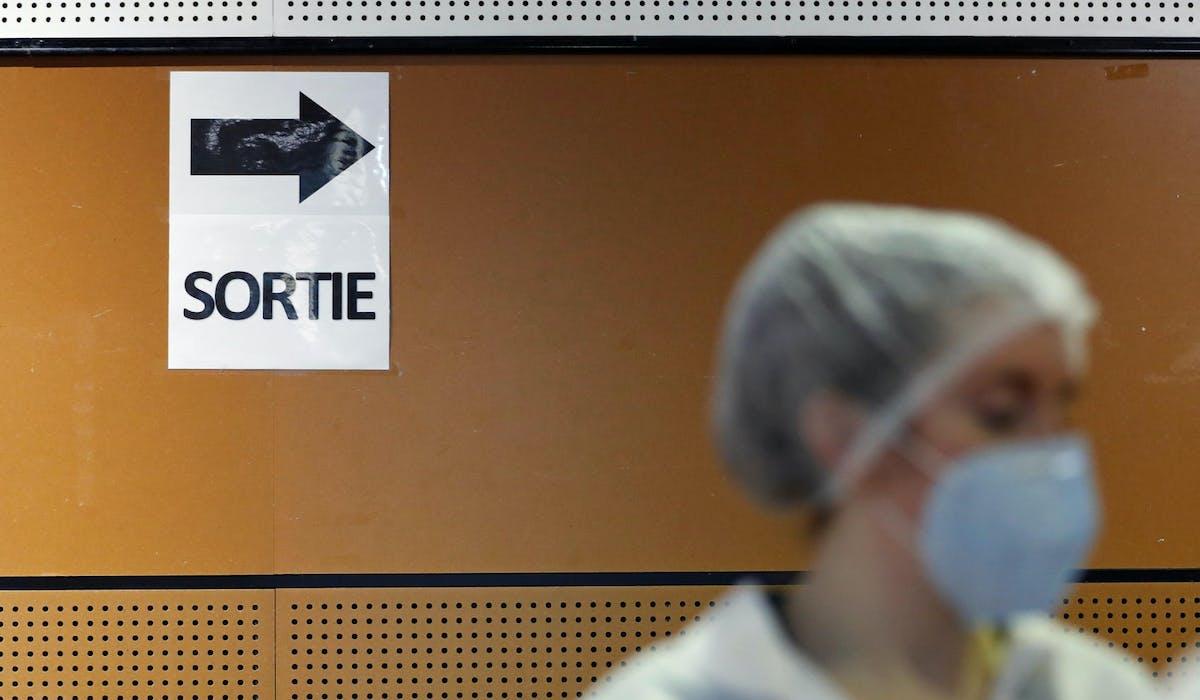 Infirmière, test anti-Covid