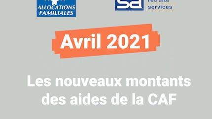 Les revalorisations des aides de la CAF en 2021