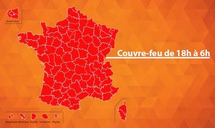 Covid-19 : toute la France en couvre-feu à 18h