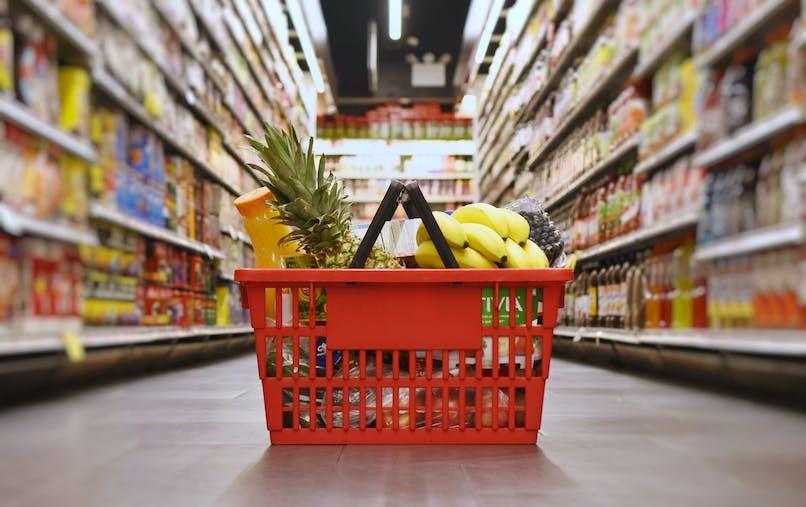 Remplir son panier de courses avec le chèque alimentaire