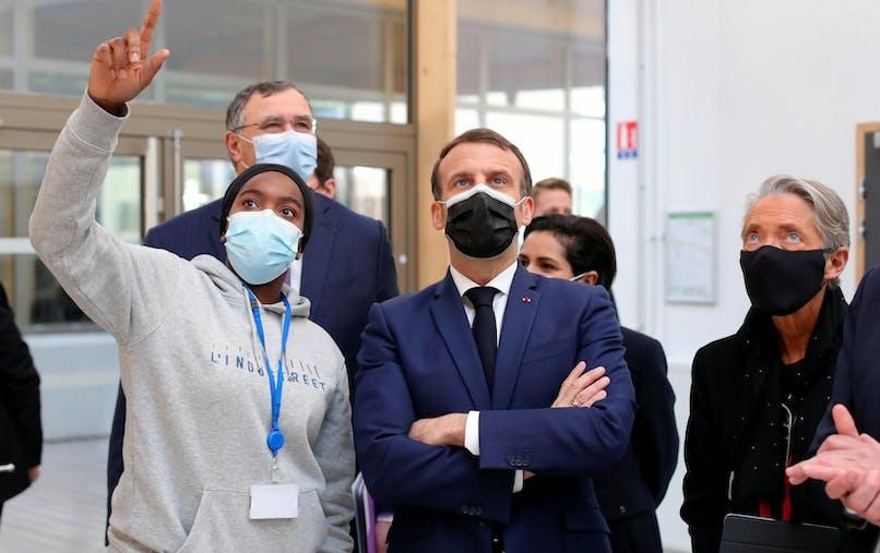 Emmanuel Macron, Elisabeth Borne
