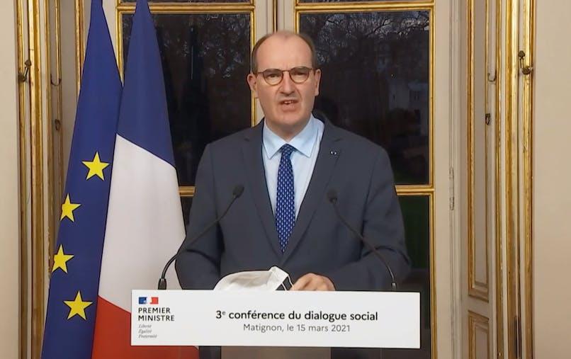 Jean Castex a annoncé la reconduction de la prime Macron à l'issue de la conférence sociale