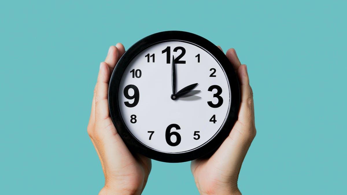 Changement d'heure : passage à l'heure d'été le 28 mars 2021
